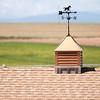 Weather Vane on Roof Rural America