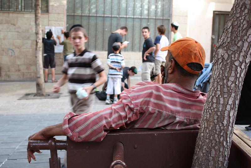 Jerusalem, Ben Yehuda Street. (July 2009) © Copyrights Michel Botman Photography