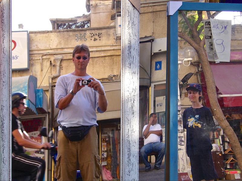 Self Portrait. Tel Aviv.  (June 2007) © Copyrights Michel Botman Photography