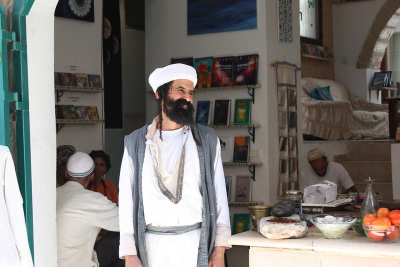 Safed, Yemenite library (July 2009) © Copyrights Michel Botman Photography