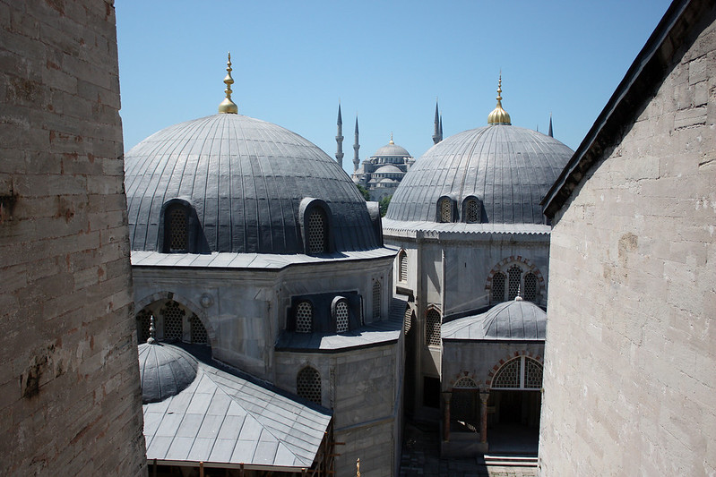 Istanbul, Blue Mosque from Hagia Sophia (June 2009) © Copyrights Michel Botman Photography