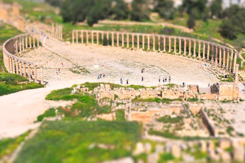 Jeresh Roman Ruins 1 - Jeresh, Jordan