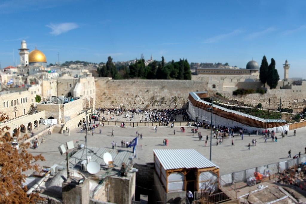 The Wailing Wall - Jerusalem, Israel