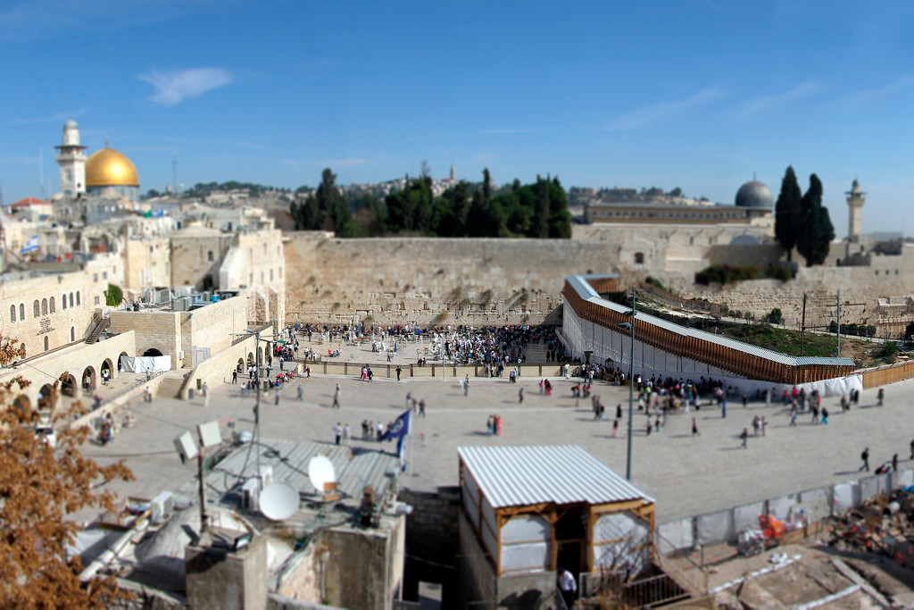 The Wailing Wall - Jerusalem, Israel