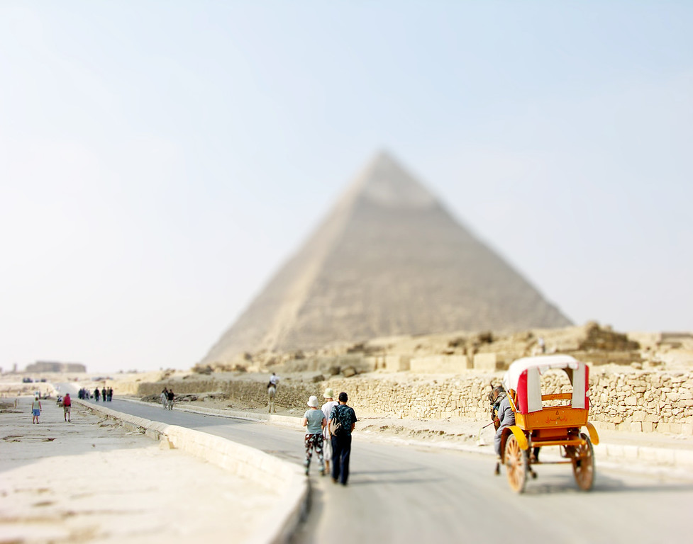 Pyramid of Giza - Cairo, Egypt
