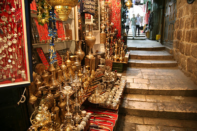 Antique shop, Muslim quarter, Jerusalem