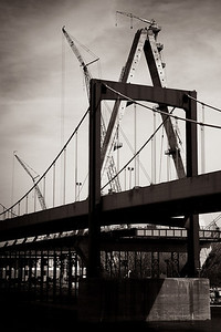 Day 050 - Christopher S. Bond Bridge Overshadows Paseo
