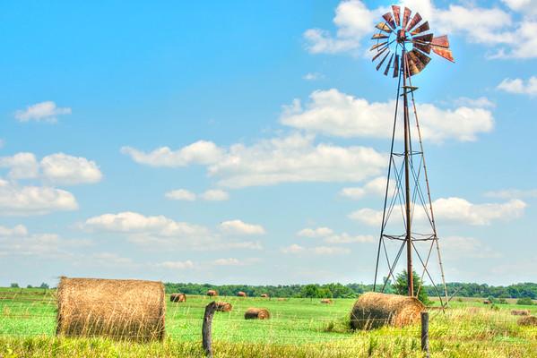 KS WIndmill hay