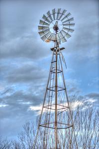 Stormy Skies Windmill