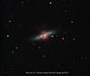M82 - Starburst Galaxy in Ursa Major