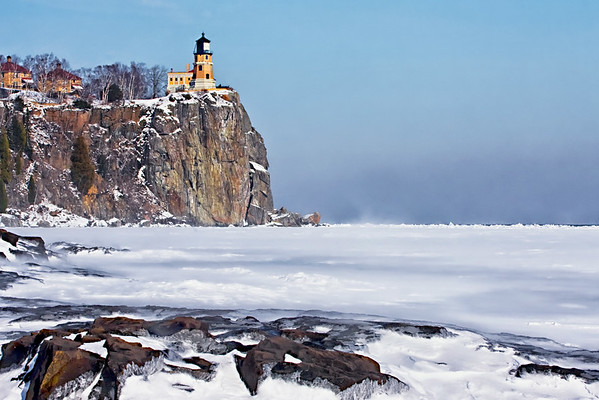 Split Rock on Ice