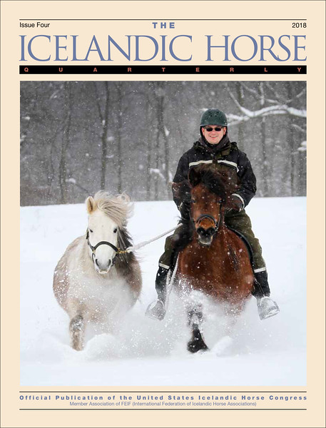 <i>The Icelandic Horse Quarterly</i> <br> Issue Four - 2018