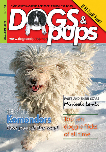 <i>Dogs & pups</i> (India) <br> May - June 2009
