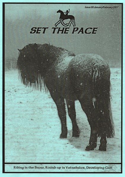 <i>Set The Pace</i> (UK) <br> January/February 2007