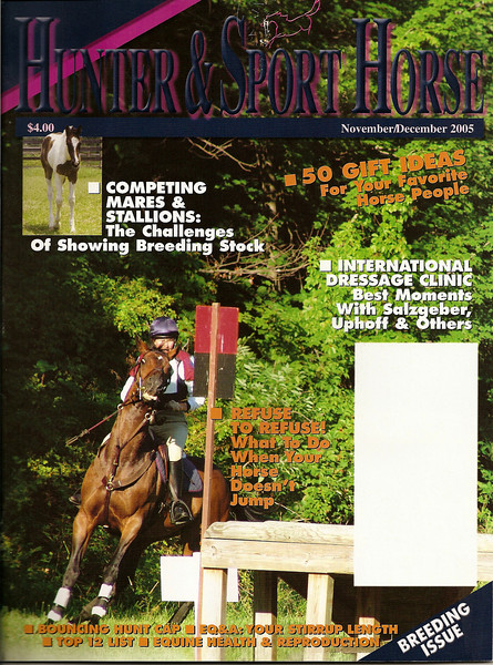 <i>Hunter & Sport Horse</i> <br> November/December 2005