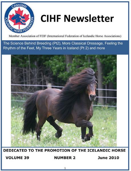 <i>CIHF Newsletter</i> (Canada) <br> June 2010