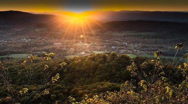 Shenandoah Sunset 2016