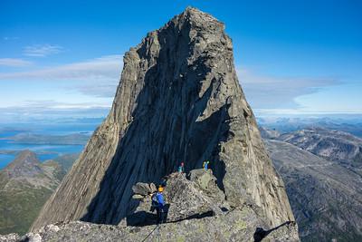 Climbing Stetind