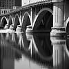 Arch bridge across the Mississippi River,  Minneapolis, Minnesota
