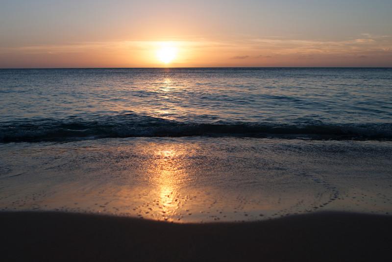Sunset. Oahu, Hawaii