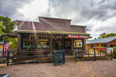 Maggies Diner. Madrid, New Mexico