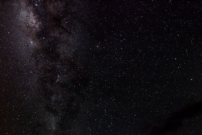 Milky Way, Kilauea Crater, Hawaii