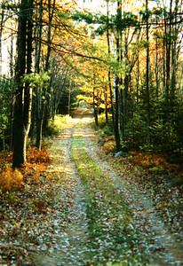 Sumner, Maine in Autumn