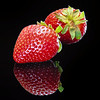 Mirrored Strawberry