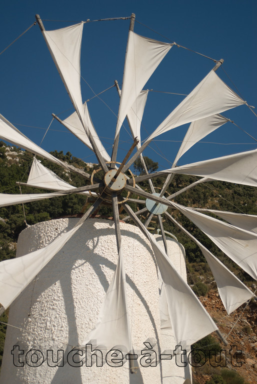 Windmills, Crete