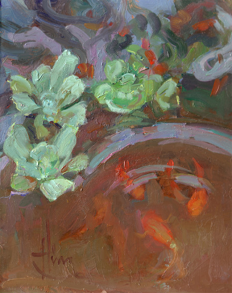 Pond Occupants8x10 Private Collection