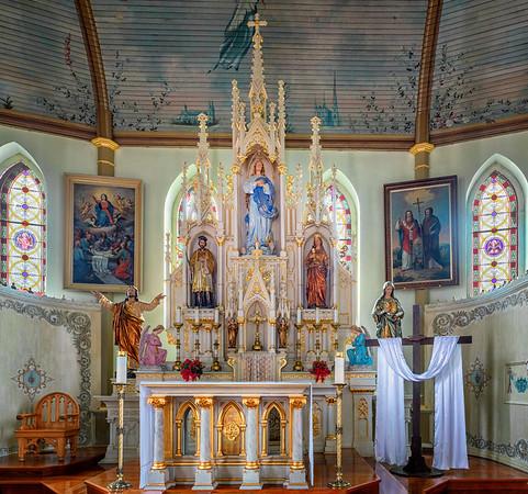 St Mary's Church, High Hill, Texas