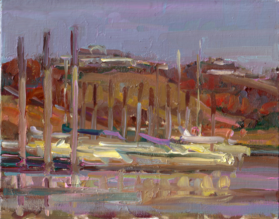 Elbow Harbour 8 x 10<br />  PRIVATE COLLECTION