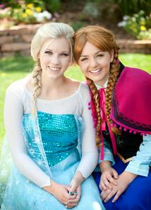 Elsa & Anna 8175 5x7