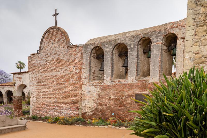 The Bell Wall, Mission San Juan Capistrano