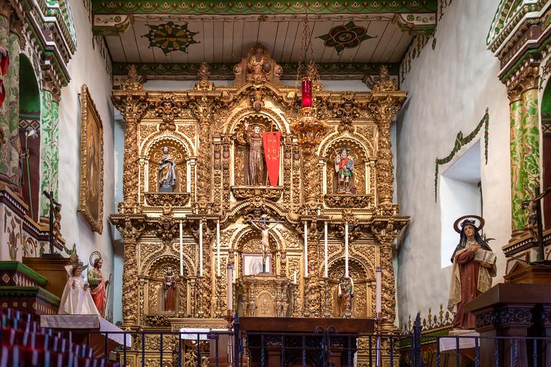 Serra Chapel, Mission San Juan Capistrano