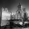 San Xavier in winter