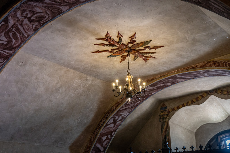 Ceiling of Mission Church