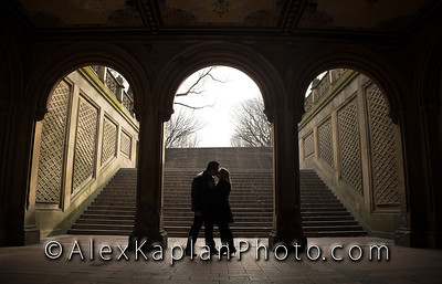Engagement Session in Central Park, NYC by New York City Wedding Photographer Alex Kaplan www.AlexKaplanWeddings.com