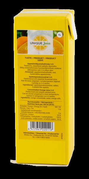 551699 Unique Juice kontsentreeritud apelsinimahl 1L,1+5