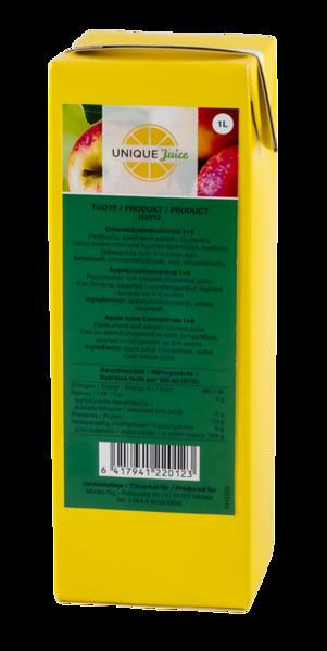 551799 Unique Juice kontsentreeritud õunamahl, 1L, 1+6