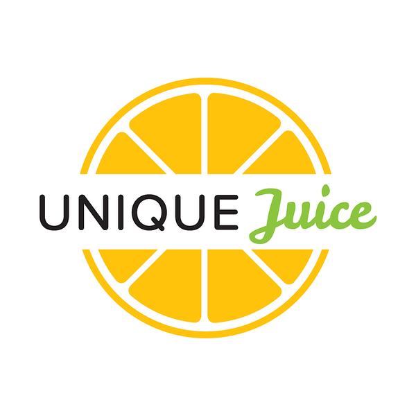 Unique juice Mixtec logo