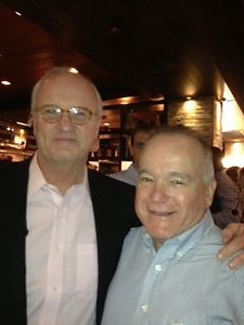 With Mike Barnicle of Morning Joe
