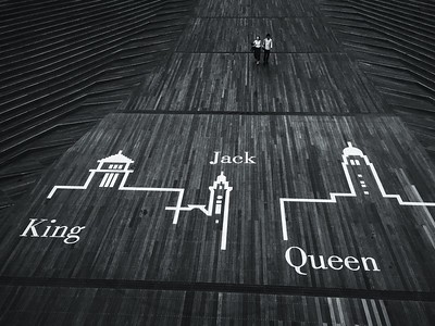 Jack, Queen, and King