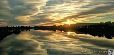 El espejo del Río Tajo