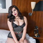 Pinup Shoot with Rose & Fi