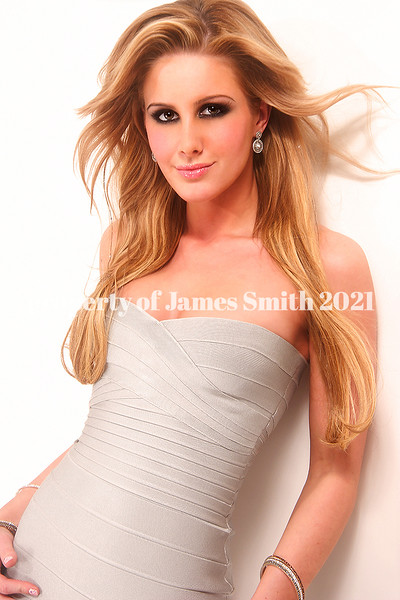Private shoot at my studio <br /> Hair: James<br /> Makeup: Michael Gwaltney<br /> Dress: Herve Leger