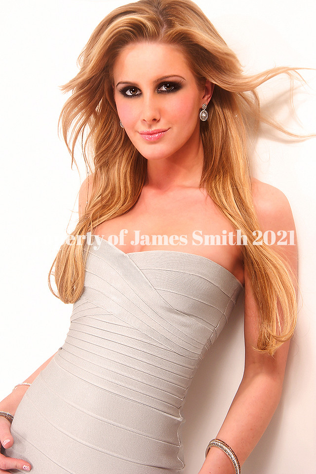 Private shoot at my studio  Hair: James Makeup: Michael Gwaltney Dress: Herve Leger