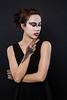 Dark and Light<br /> Models- Melinda Cushing and Elizabeth Howell <br /> HMUA Emily Brooksby
