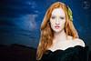 Model Melinda Cushing