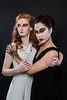 Dark and Light<br /> Models- Melinda Cushing and Elizabeth Howell <br /> HMUA Emily Brooksby